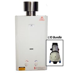 2.6 GPM Tankless Portable Water Heater with Flojet Pump