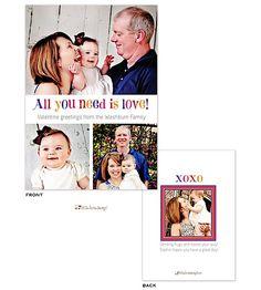 Little Lamb Design | Valentines Day | Fun Valentine's Digital Photocard (L.Lamb) | The PrintsWell Store