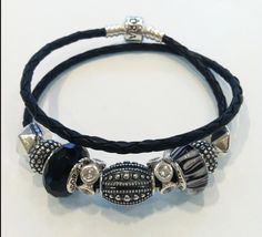 Pandora bracelet  #Pandora #bracelet #edgy