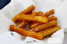 Churros sin gluten - http://www.mycookrecetas.com/churros-sin-gluten/