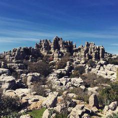 El Torcalin luonnonpuisto, Malaga