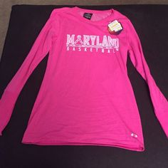 NWT under Armour Maryland cold gear shirt Cold gear infrared shirt Under Armour Tops Tees - Long Sleeve