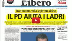 La rassegna stampa dell'Umbria del 30 marzo 2017 legittima difesa bocciata alla Camera