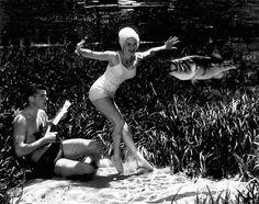 Les pin-ups aquatiques de Bruce Mozert, pionnier de la photo sous-marine en 1938 ! (image)