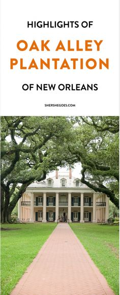 If you're visiting New Orleans, make sure to take a day trip outside the city to see Oak Alley Plantation, a historic mansion in Louisiana lined with a row of gorgeous 18th century oak trees. Click through to learn more!