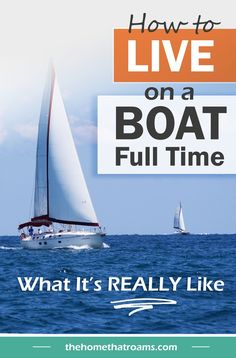 Living on a boat full-time is a big change from the average lifestyle. It requires planning, flexibility, and the willingness to give up many modern conveniences. When I moved aboard I realized just how much there was to learn about living on a boat. Here are 10 things to expect when you're living on a boat full-time. Sailboat Living, Living On A Boat, Rv Camping Tips, Hiking Tips, Liveaboard Boats, Buy A Boat, Boat Safety, Marine Environment, Us National Parks