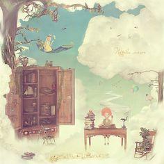 Natalia Maroz  http://ego-alterego.com/2011/06/natalia-maroz-digital-art/#.UCq_gqCkzLk