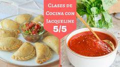 Empanadas Horneadas Con Salsa De Pizza (5/5) En Clases De Cocina Con Jacqueline