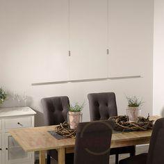 Lovely Hochwertig verarbeitetes Geh use in mattem Nickel attraktive Glaselemente warmwei es LED Licht komplett