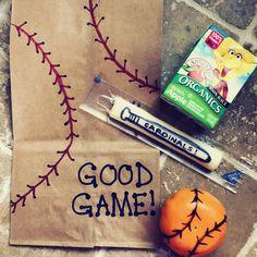 Healthy and fun Tball snacks! Easy DIY