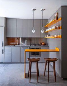 Casinha colorida: Trinta e sete cozinhas pequenas e lindas