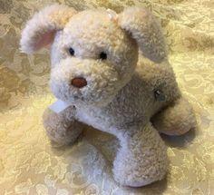 VINTAGE EDEN PUPPY DOG Plush Musical Wind Key How Much Is That Doggie In Window  | eBay