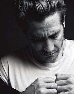 jake gyllenhaal for v man.