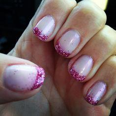 Pink on pink! #glitter