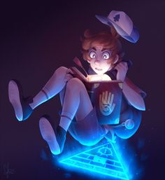 Gravity Falls: he float by Cherryberrybonbon.deviantart.com on @DeviantArt