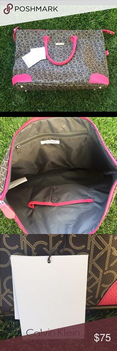 **FIRM ON PRICE**New Calvin Klein tote/luggage bag Oversized tote/luggage bag Calvin Klein Bags Travel Bags