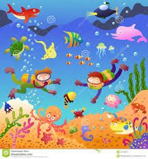 Image result for under the sea background clipart | kp sea clip ...