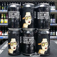 New beer. Heavy Water - Sour Cherry & Sea Salt Imperial Stout - 9% from @beavertownbeer in stock now