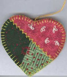 quilted home decor patterns | QUILTED CHRISTMAS ORNAMENT PATTERNS | Browse Patterns