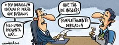 ¿Qué tal de inglés? por Luis Davila en Faro de Vigo (04/06/2013). http://www.farodevigo.es/humor/2013/06/04