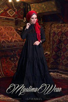 Charmony Taffeta Dress – Muslima Wear