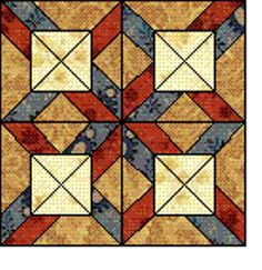 Quilt Blocks of the States - West Virginia
