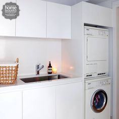 Home Beautiful Magazine Australia laundry fitout ideas
