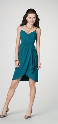 Alfred Angelo  STYLE 7195 BRIDESMAID DRESS - 22- Tealness