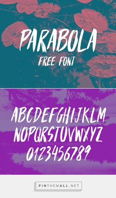 New Innovative Free Fonts for Designers | Parabola Free Font | Graphic Design Junction - created via https://pinthemall.net