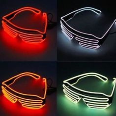 6a4a10c143172c LED glasses from Heartjacking Accessoire incontournable de toute tenue  lumineuse ces lunettes STAR RAYS LED HeartJacking