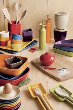 La linea #Trendy comprende una collezione per la #tavola e la #cucina di alta qualità, dal design vivace e giovanile.