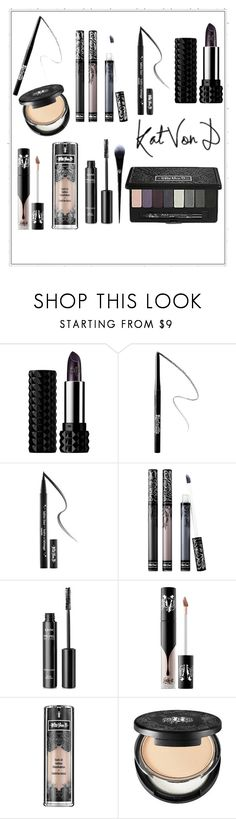 """There's a first time for everything?"" by fadesintime ❤ liked on Polyvore featuring beauty, Kat Von D and NYX"
