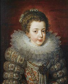 Frans Pourbus - Portrait of Elisabeth of France | da irinaraquel