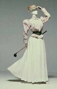 c. 1895 Golf Ensemble - The Kyoto Costume Institute