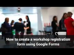 How to create google form for event registration | HTML Form Guide