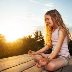 I never fully realized the magic of yoga until I started letting my youngest do yoga with me before bed. Without fail, she falls asleep almost immediately after doing yoga. Yoga Beginners, Beginner Yoga, Easy Meditation, Meditation Practices, Meditation Exercises, Mindfulness Exercises, Morning Meditation, Yoga Exercises, Mindfulness Meditation