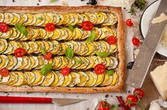 A Provincial Pastry. A Provincial Pastry. A simple treat inspired the Provence France. Healthy Recipes For Weight Loss, Good Healthy Recipes, Delicious Vegan Recipes, Healthy Foods To Eat, Veggie Recipes, Healthy Eating, Veggie Food, Amazing Recipes, Savoury Baking