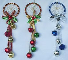 "Christmas dreamcatcher | Eagle Spirit Native American Store - ""Ojibwa Holiday DreamCatcher"""