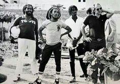 *Jacob Miller* & Bob Marley & The Wailers. More fantastic pictures and videos of *Bob Marley & Jacob Miller* on: https://de.pinterest.com/ReggaeHeart/