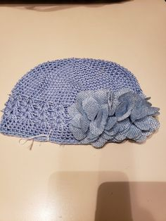 480686a5605 Blue Baby Hat  fashion  clothing  shoes  accessories  babytoddlerclothing   babyaccessories (ebay link)
