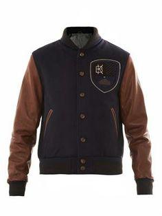 Leather sleeve varsity jacket Cool Jackets For Men 8810ed17b2ee