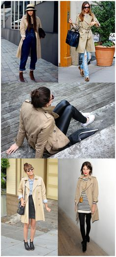 How To Style & Wear Macs & Trench Coat - StyleAndMinimalism.com