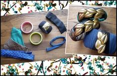 Have an Arm Party with Fabric Covered Bangles