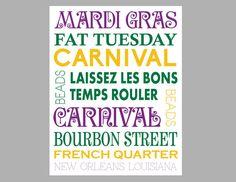 Items similar to Mardi Gras Subway Sign- Mardi Gras Sign- Mardi Gras Vintage Sign- Mardi Gras Poster on Etsy