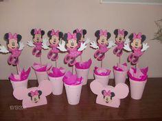 Como hacer bolsitas para cumpleaños de Minnie - Imagui