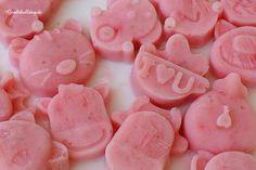 Johgurt-Erdbeer Eissnack Rezept für Hunde
