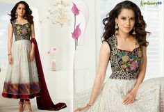 Shop latest  #KanganaRanaut White Long #AnarkaliSuit at 10% Extra Discount. Pay Online And Save More. Shop Now:- http://www.shoppers99.com/kangana_ranaut_designer_anarkali_suits/kangana_ranaut_white_long_anarkali_suit_t-511-915