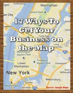 How To Get Your Small Business on the Map