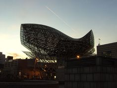 Barcelona Fish, Barcelona.    Designed by  Gehry Partners.