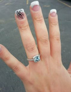 """""""I love my Adele engagement ring. I wanted something unique and this ring with the aquamarine center stone is perfect! I get compliments all the time."""""""